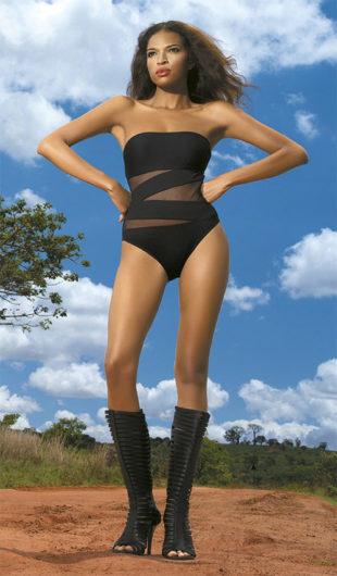 Dámske jednodielne plavky She Tiffany Wild Safari