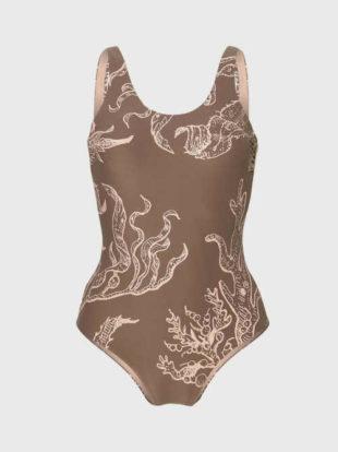 Plavky O'Neill v klasickom strihu v modernom zaujímavom vzore
