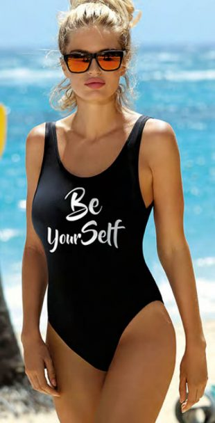 Dámske jednodielne plavky Be Yourself