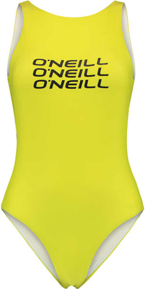 Trendy športové plavky v žltej farbe