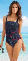 Dámske jednodielne plavky účinne tvarujú postavu