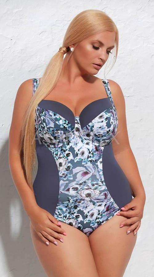Jednodielne plavky pre ženy s väčšími prsiami