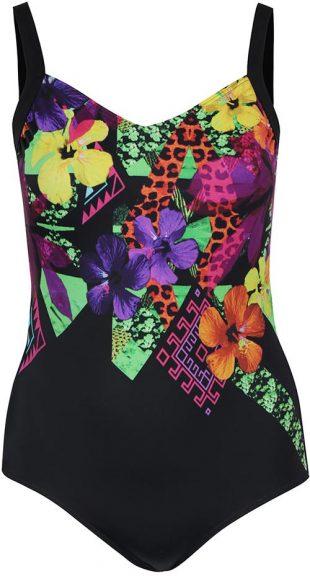 XXL kvetované plavky