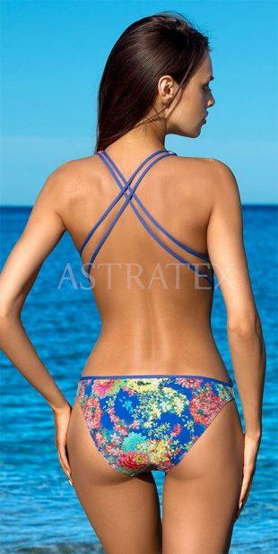 Jednodielne plavky Zara so športovými ramienkami a odhaleným chrbtom